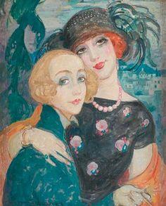 """""""Lili y Gerda"""", Gerda Wegener"""